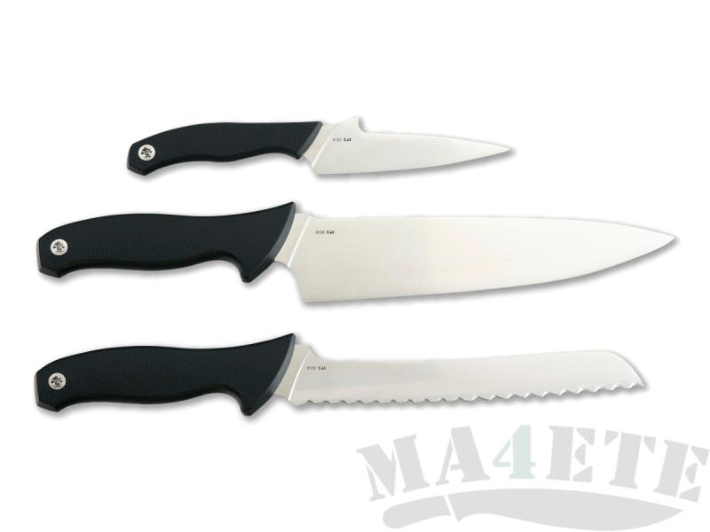 картинка Набор из 3 кухонных ножей Kershaw Emerson 3 Piece Cook's Set K6100X от магазина ma4ete