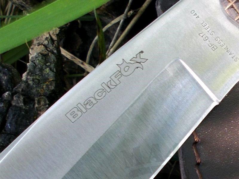 картинка Нож Fox BlackFox Hunting Knife BF-617 от магазина ma4ete