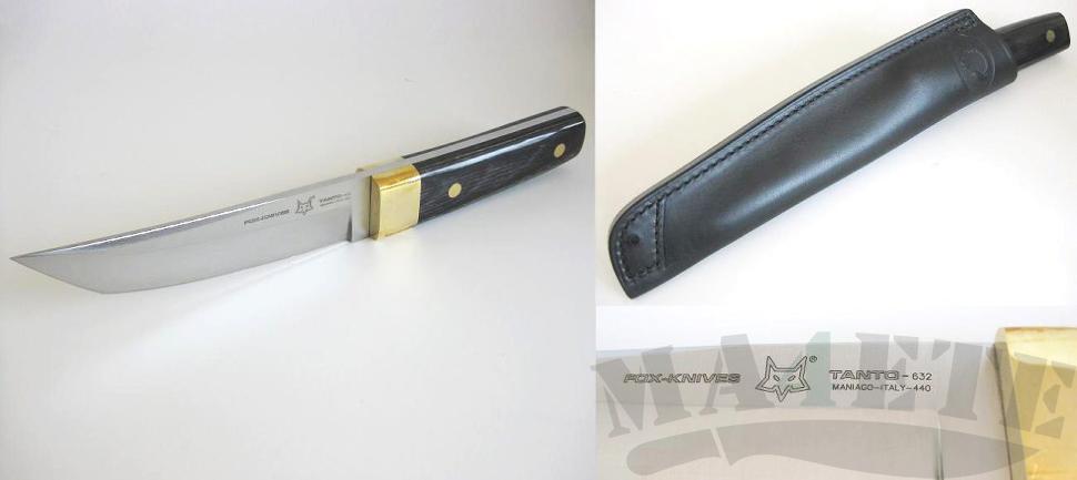 картинка Нож Fox Colt Samurai Tanto 632 от магазина ma4ete