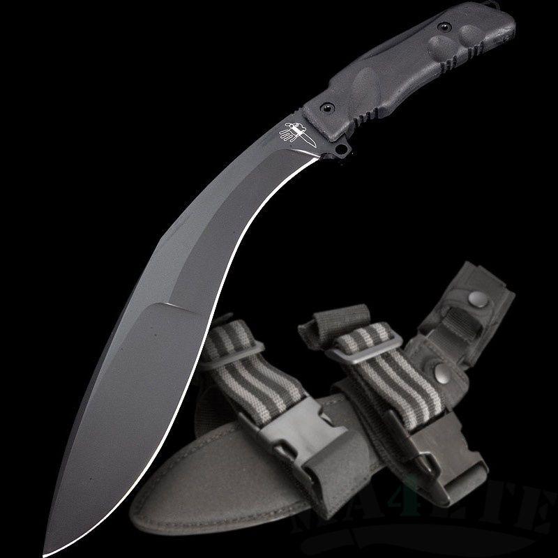 картинка Кукри Fox Extreme Tactical Kukri (Black) 9CM04T от магазина ma4ete