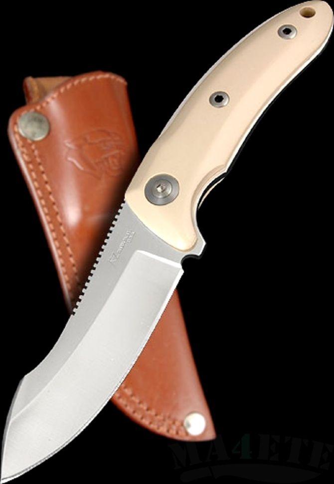 картинка Нож Katz Kagemusha™ NFX White Micarta KZ_NFX/WM от магазина ma4ete