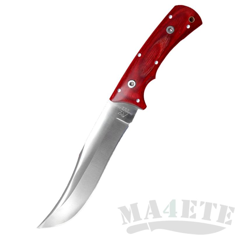 картинка Нож Katz Lion King™ Premium 302 Yukon CherryWood KZ_K302/UK-CW-R от магазина ma4ete
