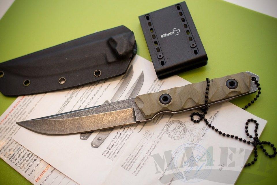 картинка Нож Boker Magnum Sierra Delta Drop 02SC017 от магазина ma4ete