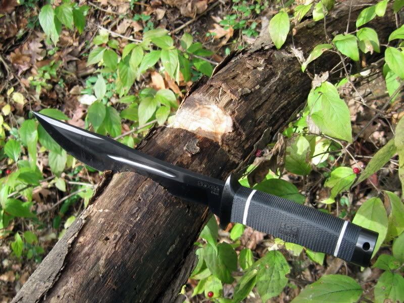 картинка Нож SOG Creed Black TiNi CD02 от магазина ma4ete