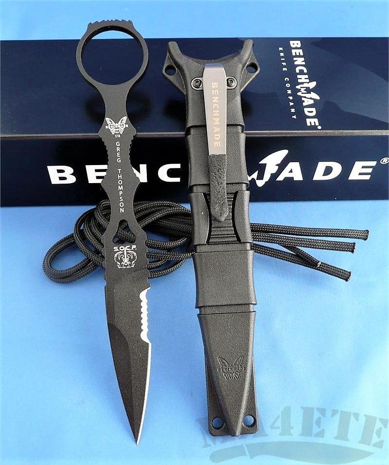 картинка Нож Benchmade SOCP Dagger (Special Operations Combatives Program) 178SBK от магазина ma4ete