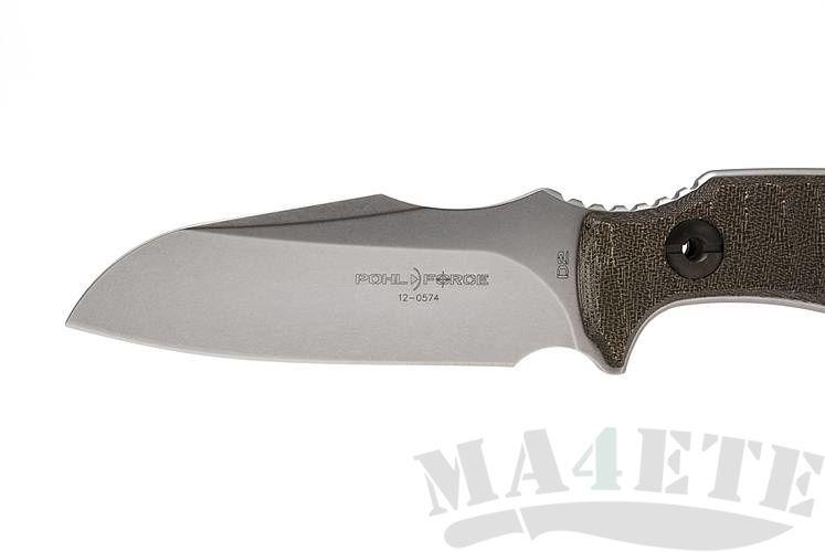 картинка Нож Pohl Force Kilo One Para-Rescue (кожаные корич. ножны) 2036 от магазина ma4ete