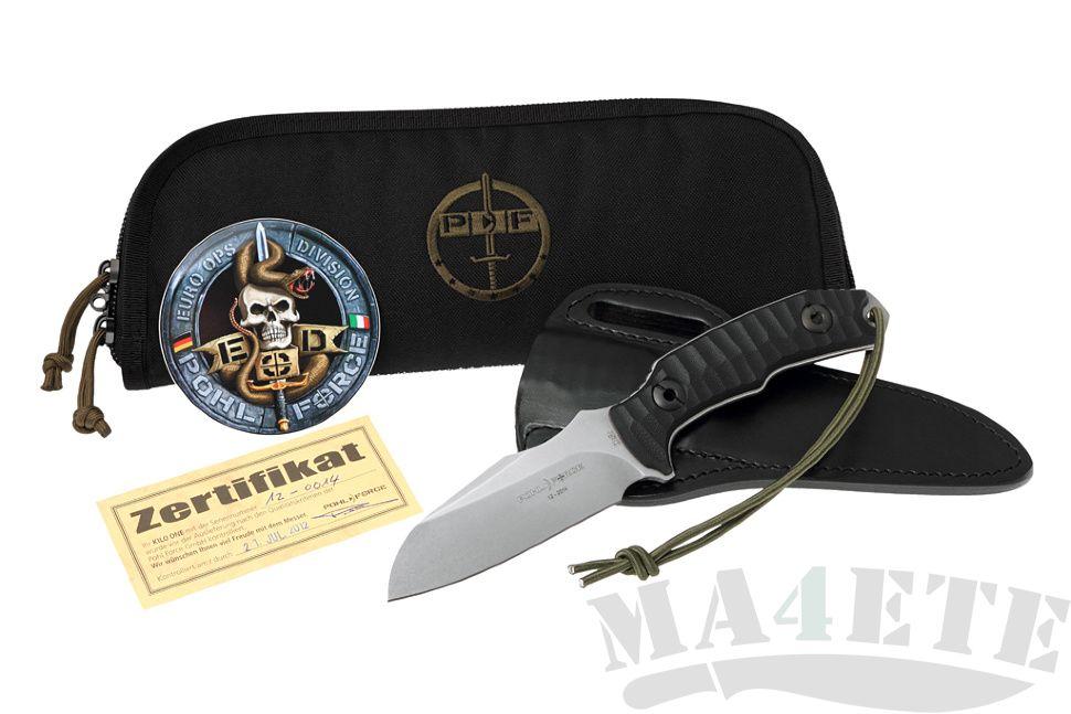 картинка Нож Pohl Force Kilo One Outdoor (кожаные ножны) PF2033 от магазина ma4ete