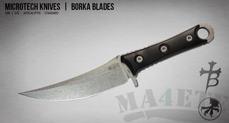 картинка Нож Microtech Borka SBK Apocalyptic MT_200-10AP от магазина ma4ete