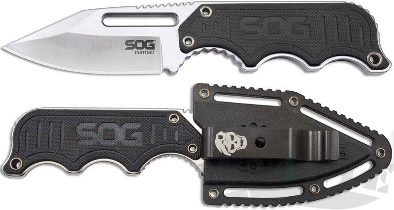 """картинка Нож SOG Instinct 2.3"""" G-10 NB1012 от магазина ma4ete"""
