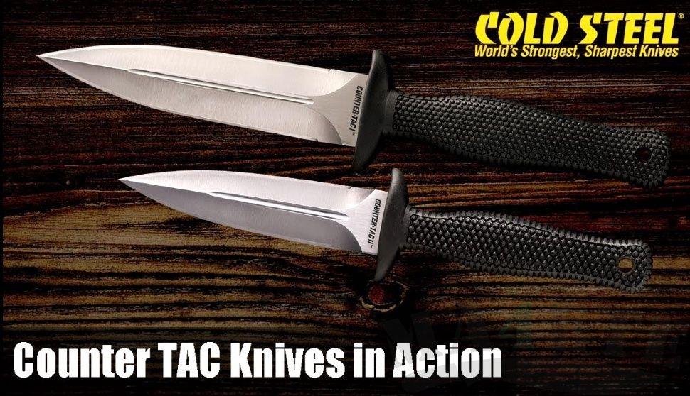 картинка Нож Cold Steel Counter TAC II 10DCR от магазина ma4ete