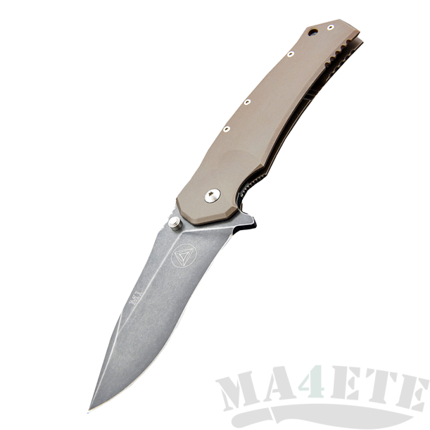 картинка Складной нож Fox Combative Edge CED-M1 TiBR от магазина ma4ete
