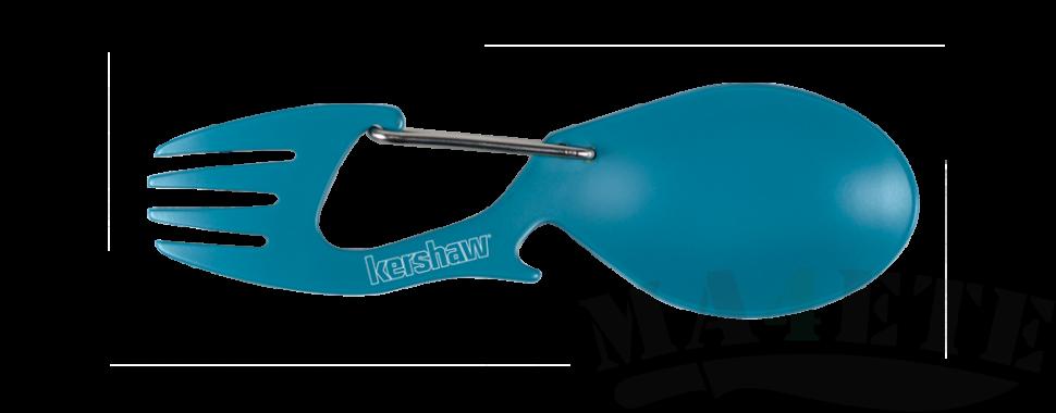 картинка Карабин ложка - вилка Kershaw Ration Teal Blue K1140TEAL от магазина ma4ete