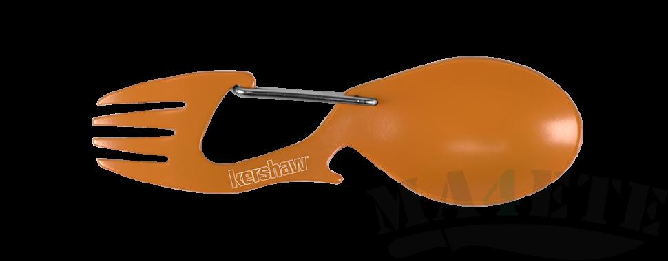 картинка Карабин ложка - вилка Kershaw Ration Orange K1140OR от магазина ma4ete