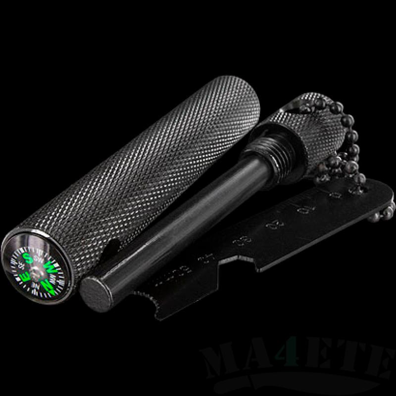 картинка Огниво с компасом и линейкой Boker Plus Fire Starter 09BO778 от магазина ma4ete