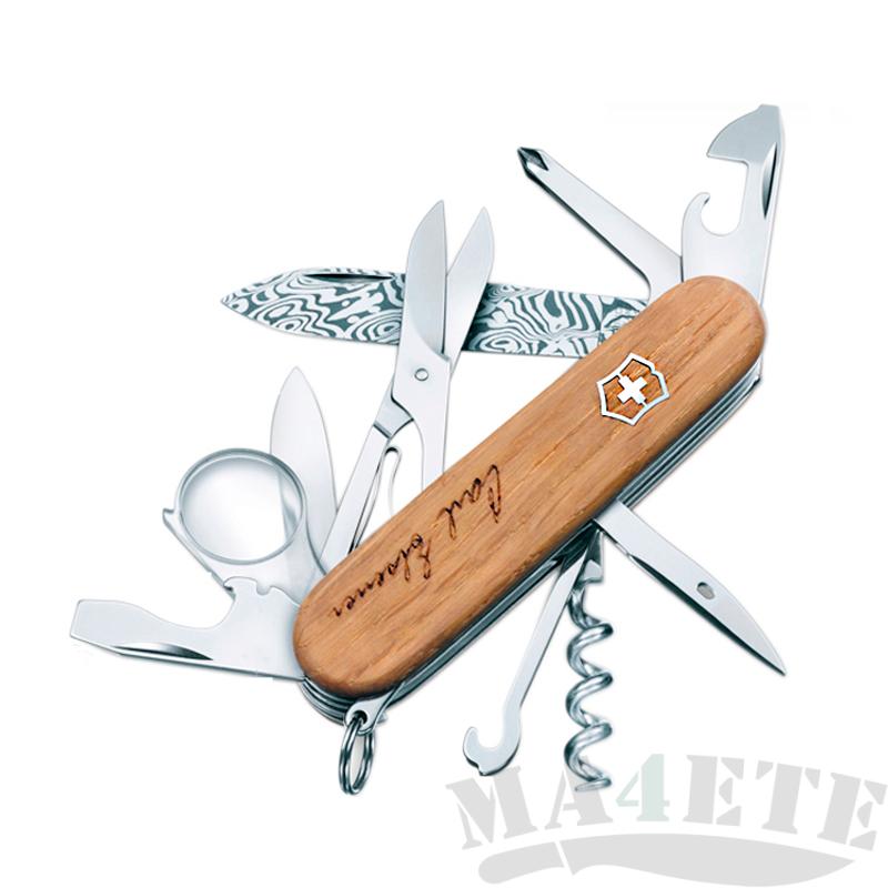 картинка Нож Victorinox Explorer Damast юбилейный 1.6701.J13 от магазина ma4ete