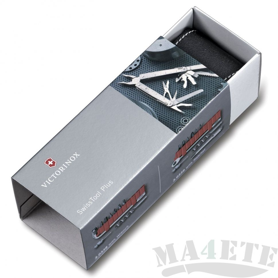 картинка Мультитул Victorinox SwissTool X Plus Ratchet 3.0339.L от магазина ma4ete