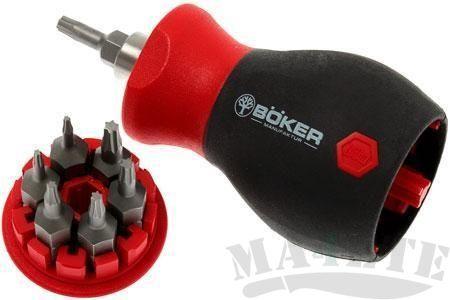 картинка Отвертка с набором бит Boker Plus Toolkit Torx 09BO700 от магазина ma4ete