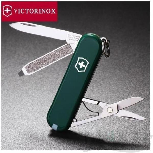 картинка Нож-брелок Victorinox Зеленый 0.6223.4 от магазина ma4ete