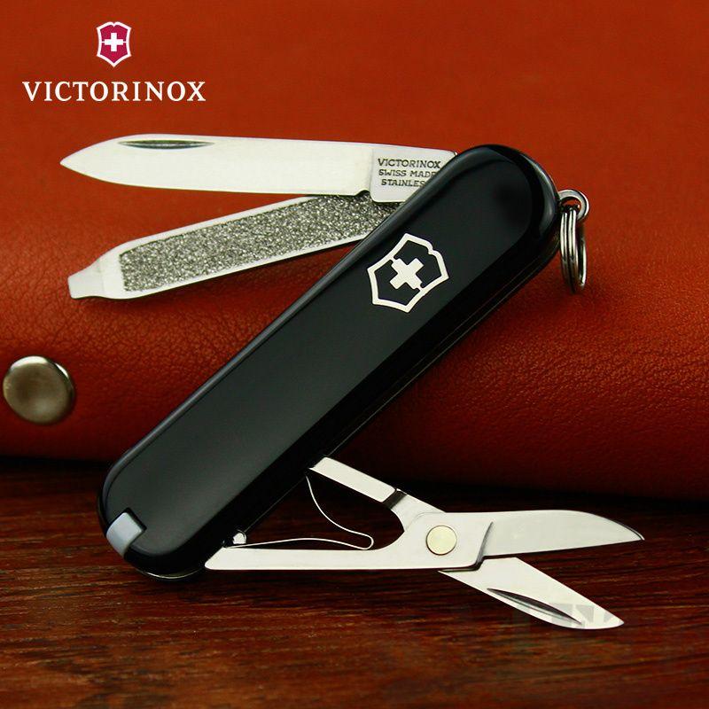 картинка Нож-брелок Victorinox Черный 0.6223.3 от магазина ma4ete