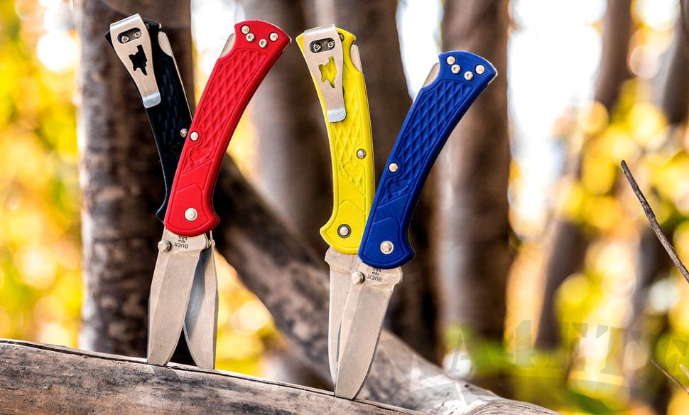 картинка Складной нож Buck Folding Hunter Slim Select 0110RDS2 от магазина ma4ete