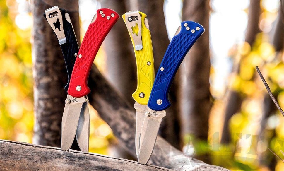картинка Складной нож Buck Folding Hunter Slim Select 0110GRS1 от магазина ma4ete