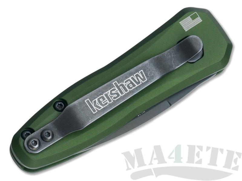 картинка Складной автоматический нож Kershaw Launch 4 OD Green K7500OLBLK от магазина ma4ete