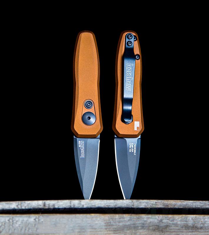 картинка Складной автоматический нож Kershaw Launch 4 Bronze K7500EBBLK от магазина ma4ete