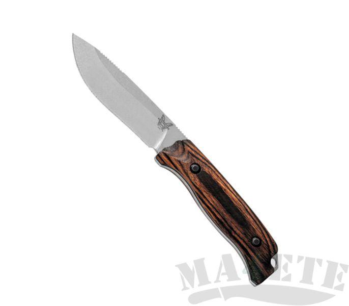 картинка Нож Benchmade Saddle Mountain Hunt Wood 15007-2 от магазина ma4ete