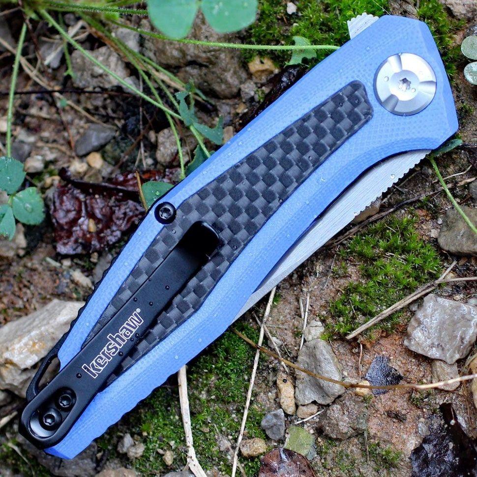 картинка Складной нож Kershaw Atmos 4037BLU от магазина ma4ete