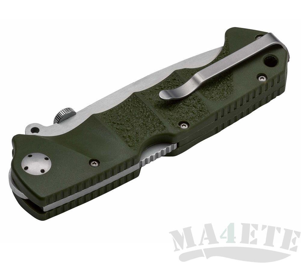 картинка Складной нож Boker RBB (Reality-Based Blades) Bushcraft Jim Wagner Green 01BO063 от магазина ma4ete