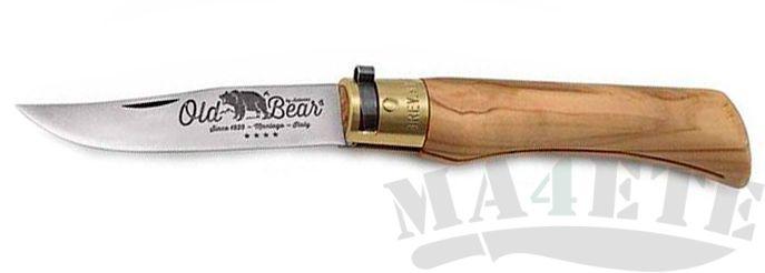 картинка Нож складной Antonini Old Bear 9306/21_LU Olive L от магазина ma4ete