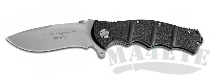 картинка Нож складной AK-101 Gray Plain 10.0 см. BK01KAL101 от магазина ma4ete