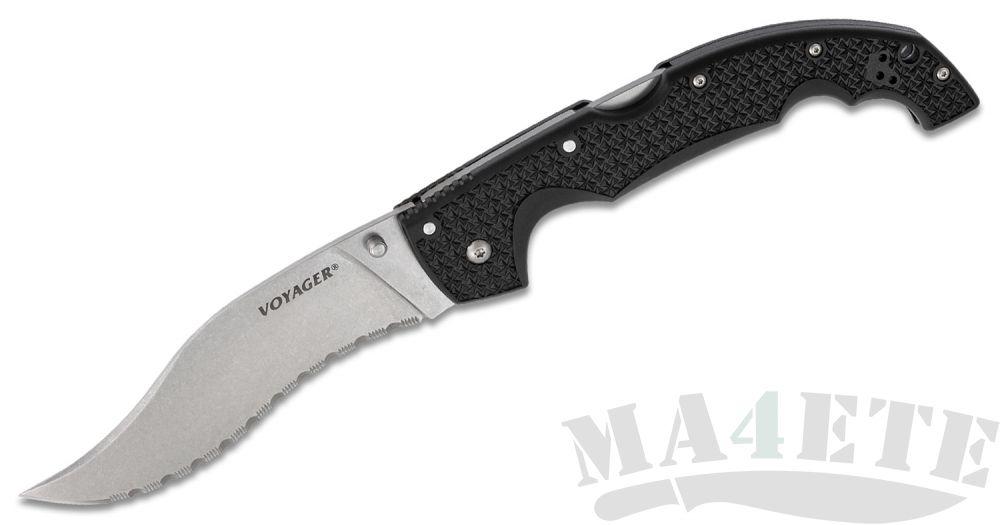 картинка Нож складной Cold Steel 29AXVS Extra Large Voyager Vaquero Serrated от магазина ma4ete