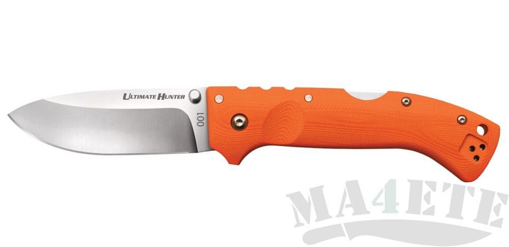 картинка Нож складной Cold Steel 30URY Ultimate Hunter Blaze Orange от магазина ma4ete