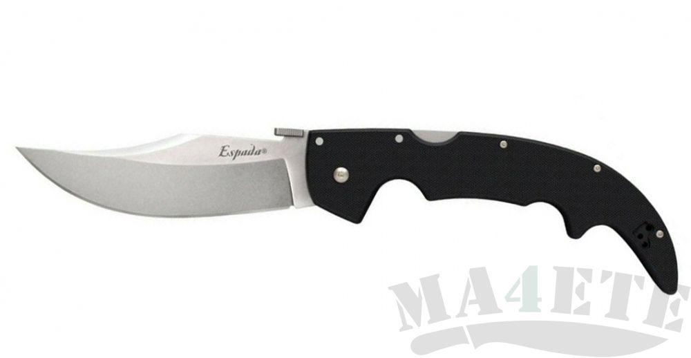 картинка Нож складной Cold Steel Large Espada Aus-10A Steel, Black G-10 Handle 62MGD от магазина ma4ete