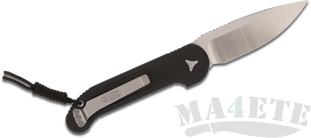 картинка Автоматический складной нож Microtech 135-4 LUDT Satin от магазина ma4ete