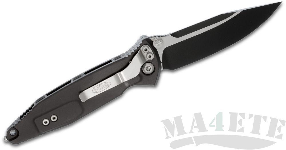 картинка Нож складной Microtech, Black Aluminum Handle, 10.2 см, MT_160-1 Socom Elite от магазина ma4ete