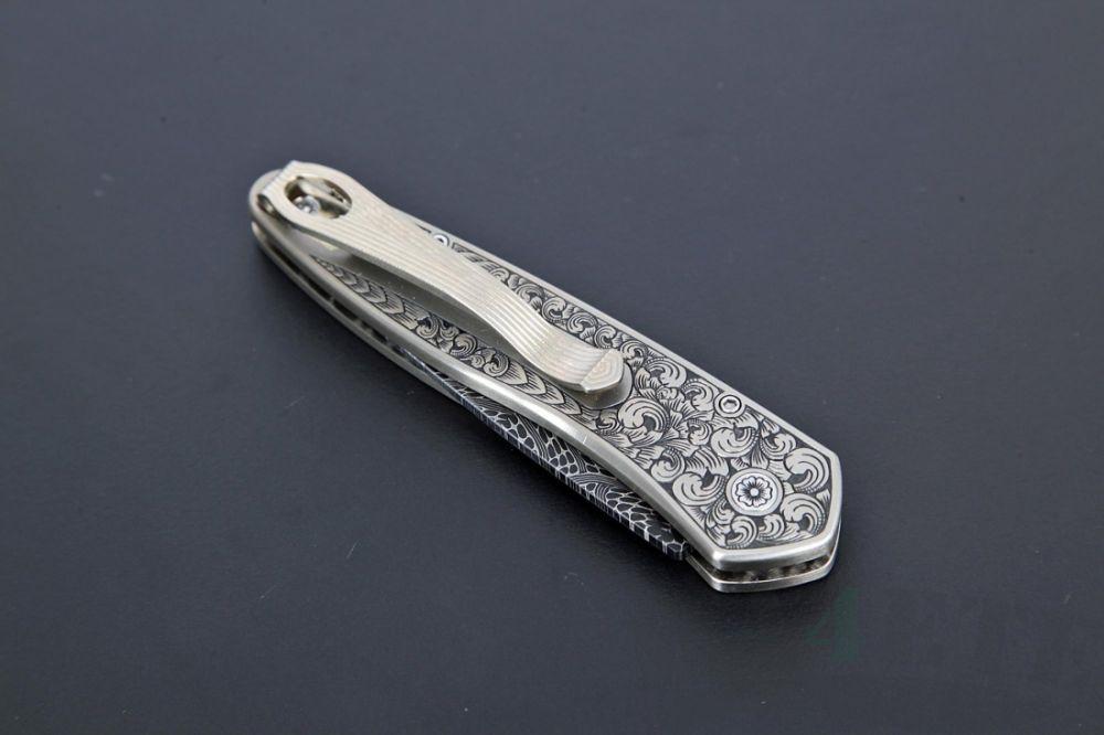 картинка Автоматический складной нож Newport Ultimate Custom от магазина ma4ete