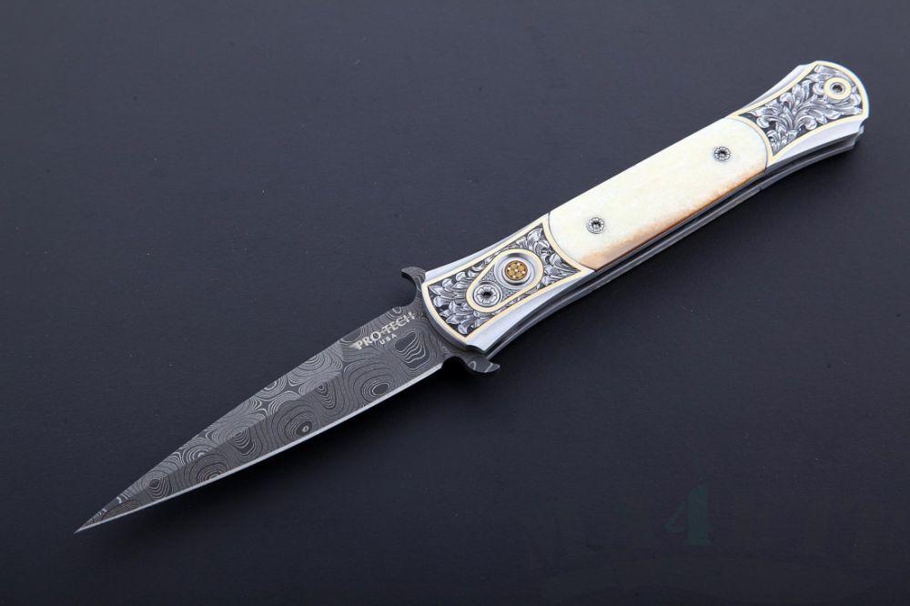 картинка Автоматический складной нож The Don Ultimate Custom от магазина ma4ete