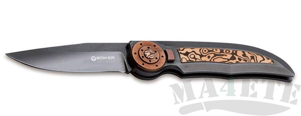 картинка Нож складной Boker Manufaktur SOLINGEN 112652 Special Run Tucan Eclipse от магазина ma4ete