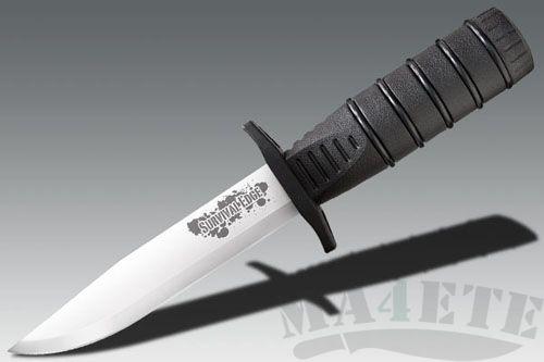 картинка Нож для выживания с фиксированным клинком Survival Edge Black 12.7 см. CS/80PHBR от магазина ma4ete