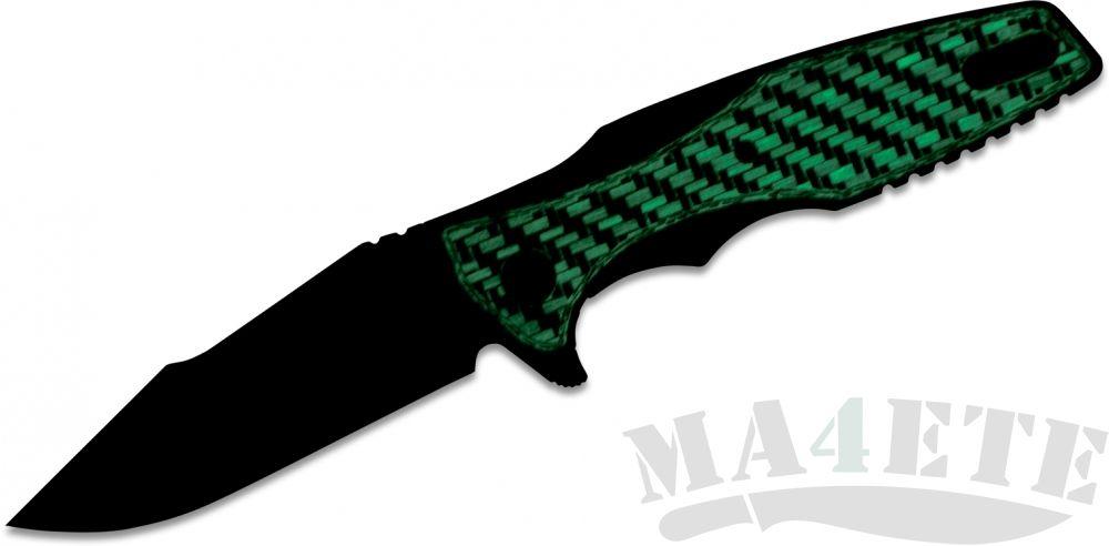 картинка Нож складной Zero Tolerance 0393GLCF, карбон светится в темноте от магазина ma4ete