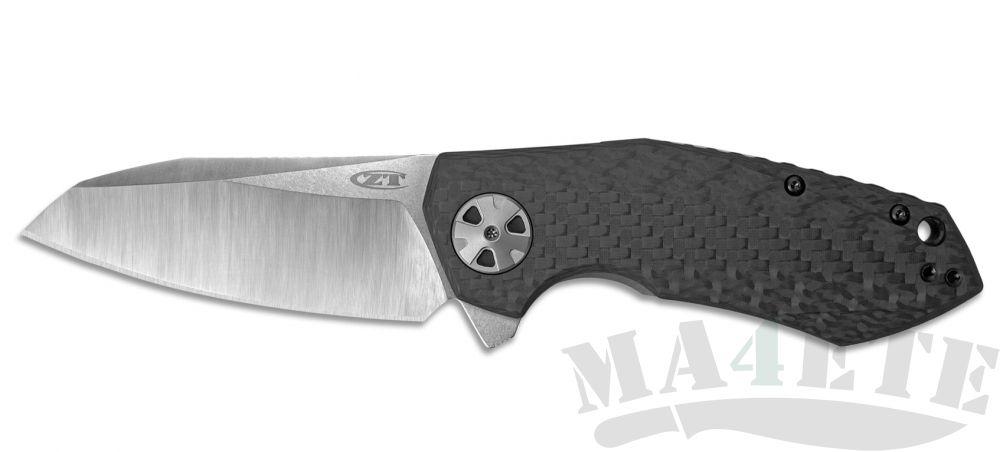 картинка Нож складной Zero Tolerance 0456CF Sprint Run, титан карбон от магазина ma4ete