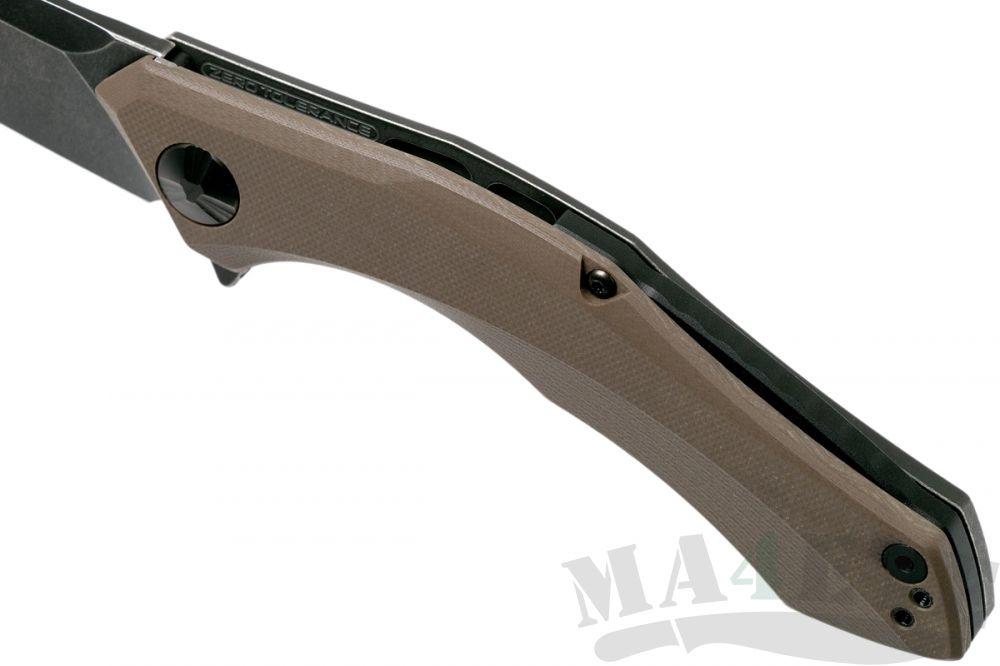 картинка Нож складной Zero Tolerance 0462TAN Sprint Run от магазина ma4ete