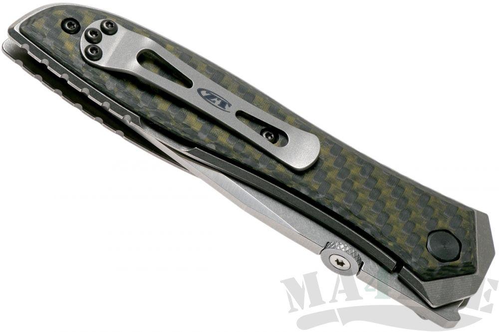 картинка Нож складной Zero Tolerance 0640 Emerson Viper, титан карбон от магазина ma4ete