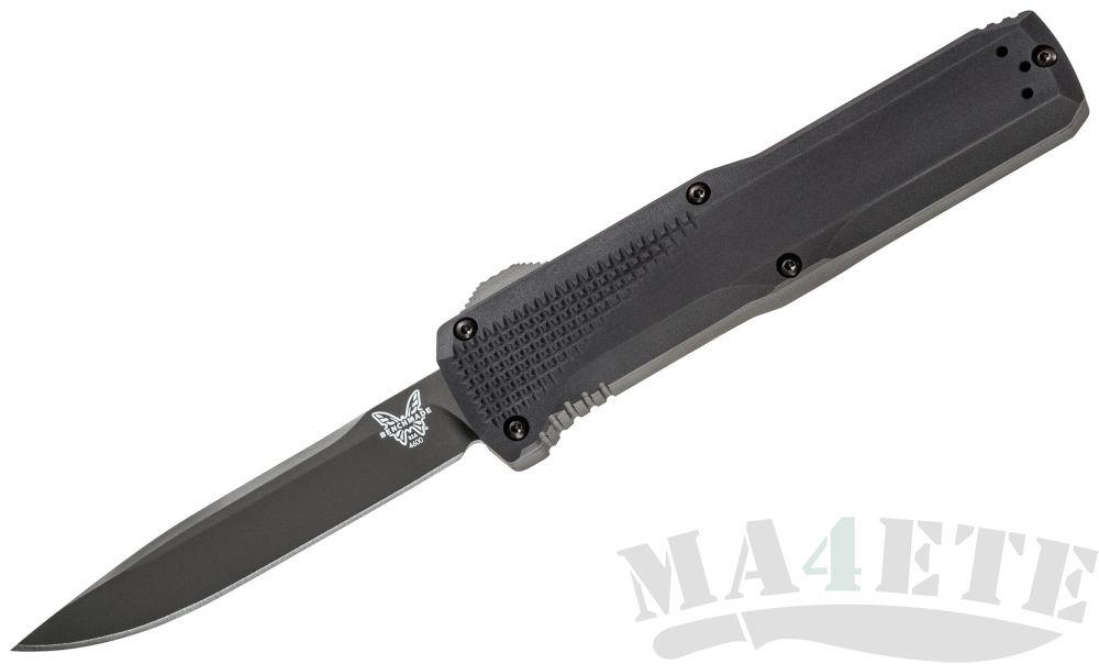 картинка Фронтальный нож Benchmade 4600DLC Phaeton Выкидной от магазина ma4ete