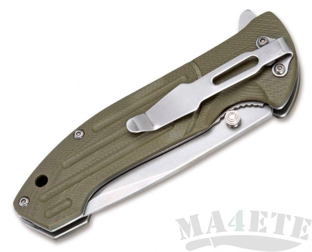 картинка Нож складной Boker Magnum Brutus 440А, G-10 Handle BK01MB719 от магазина ma4ete