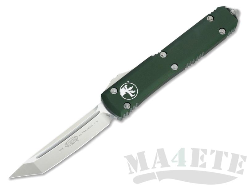 картинка Автоматический выкидной нож Microtech Ultratech T/E MT_123-4OD от магазина ma4ete