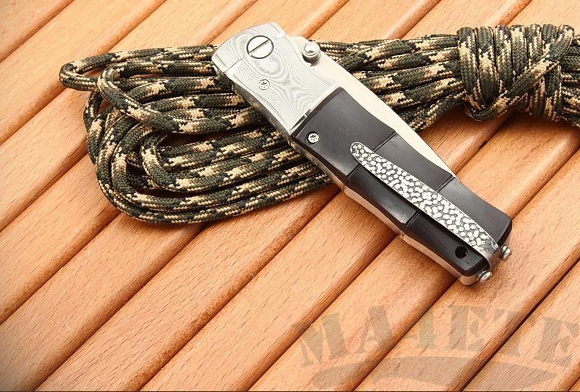 картинка Нож складной Mcusta Bamboo Folder African Ebony MC-0146 от магазина ma4ete