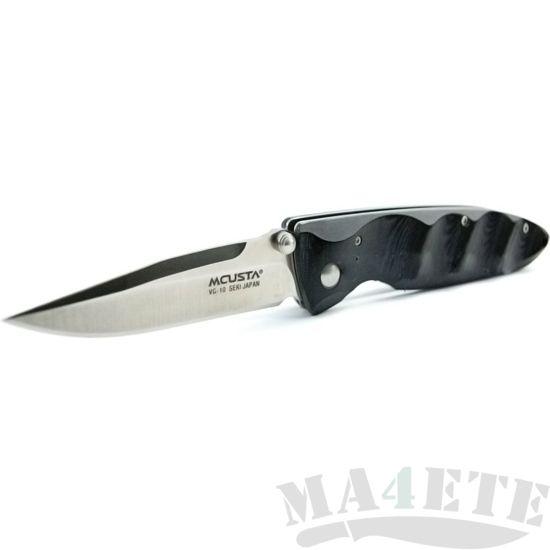 картинка Нож складной Mcusta Basic Folder Black Micarta MC-0022 от магазина ma4ete